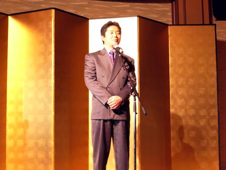 内田氏の卒業式